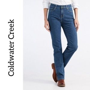Coldwater Creek Jeans Blue Size 12 Super High Rise